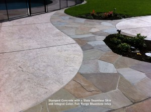 Stamped-Concrete-with-a-Slate-Seamless-Skin-and-Integral-Color-Full-Range-Bluestone-Inlay