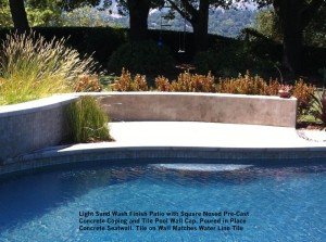 Light-Sand-Wash-Finish-Patio-with-Square-Nosed-PreCast-Concrete-Coping-and-Tile-Pool-Wall-Cap-Poured-in-Place-Concrete-Seatwall-Tile-on-Wall-Matches-Water-Line-Tile