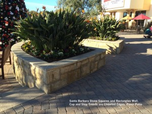 Santa-Barbara-Stone-Squares-and-Rectangles-Wall-Cap-and-Step-Treads-are-Chiseled-Edges-Paver-Patio